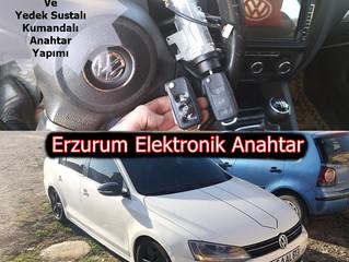 2011 Volkswagen Jetta Kontak Tamiri Ve Yedek Sustalı Kumandalı Anahtar Yapımı