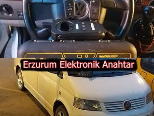 2004 Volkswagen Transporter T5 Sustalı Kumandalı Anahtar Yapımı