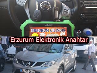 2017 Nissan Qashqai Kumandalı Anahtar Yapımı