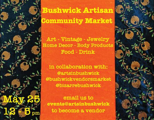 Art in Bushwick Poster