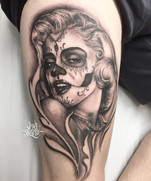 Marilyn Monroe Catrina