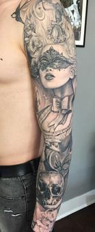 Marie Antoinette inspired sleeve