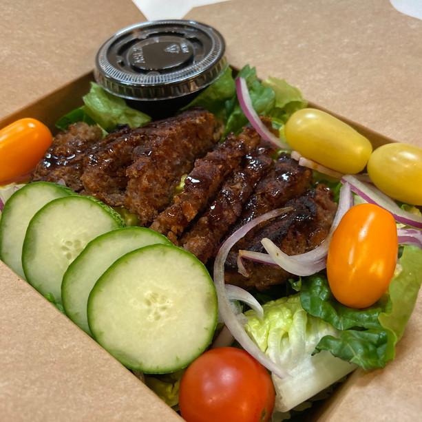 Beyond Beef Teriyaki Salad