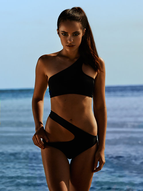 Black Edgy Bikini