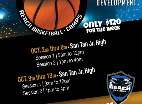 Fall Break Basketball Camp