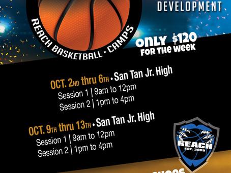 Fall Break Basketball Camp