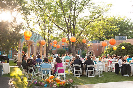 Garden Weddding Reception