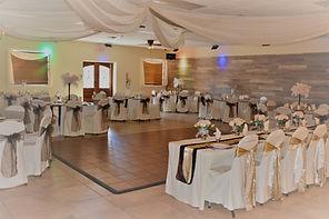 Reception Hall Decorated