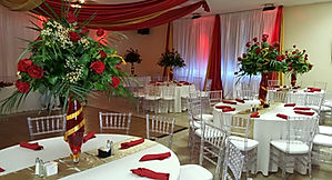 Recepation Hall with Chiavari Chairs