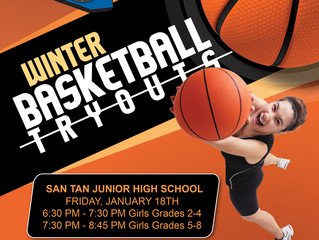 Youth Girls Winter tryouts are here!