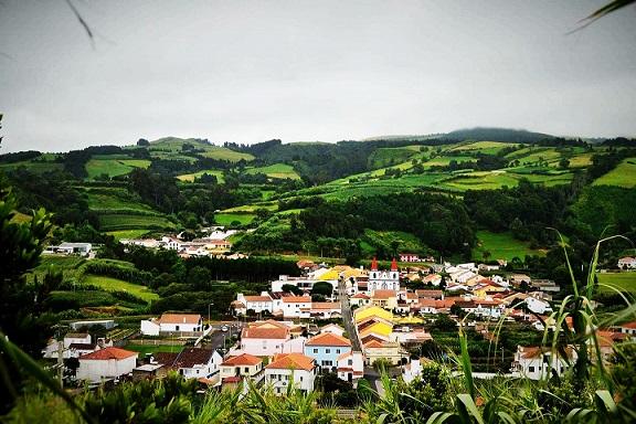 São Brás - vista do Pico