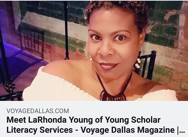 Founder/Owner LaRhonda Young featured as one of Voyage Dallas Magazine's Most Inspiring People