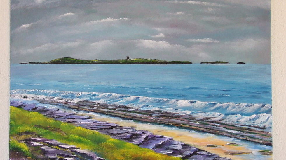 Mutton Island from Quilty
