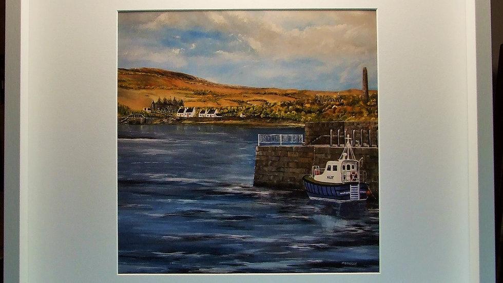 Cappa Pier Kilrush. Print