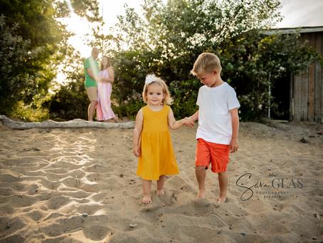 Goodale Family Beach Shoot | Lake County Family Photographer