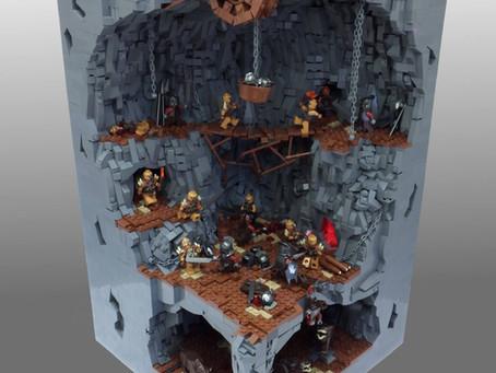 The Orc Pit , a legendary MOC!
