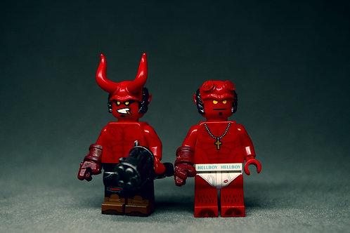 Life Brick Hellboy pair