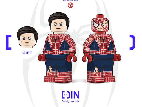 Jin x Spider-man part 1