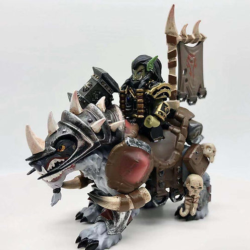 Thrall with wolf Deluxe minifigure set