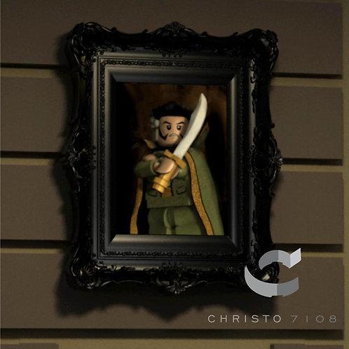 Christo7108 Ra's al Ghul Brickart
