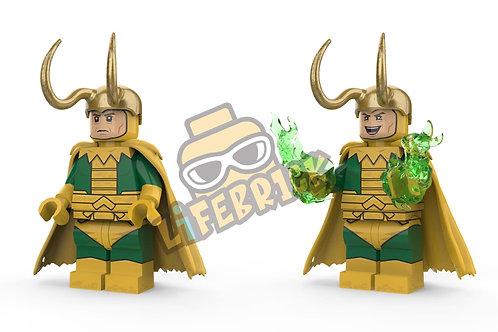 Life Brick - Old Man Loki