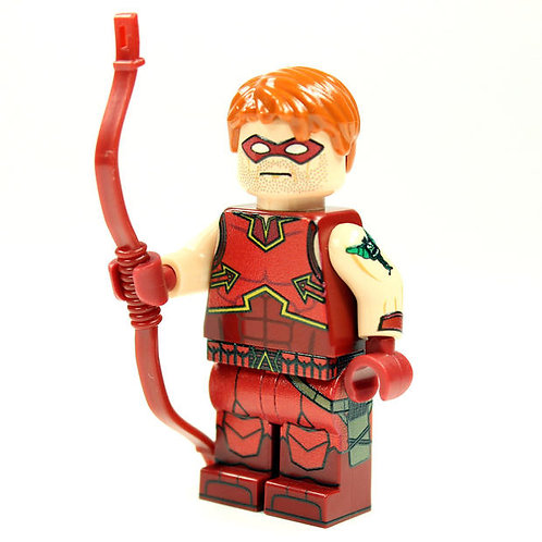 Brick MOC Red Arrow USA