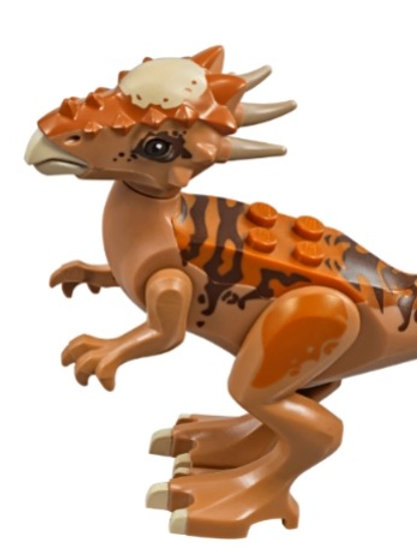 Lego Dinosaur Medium Dark Flesh Stygimoloch