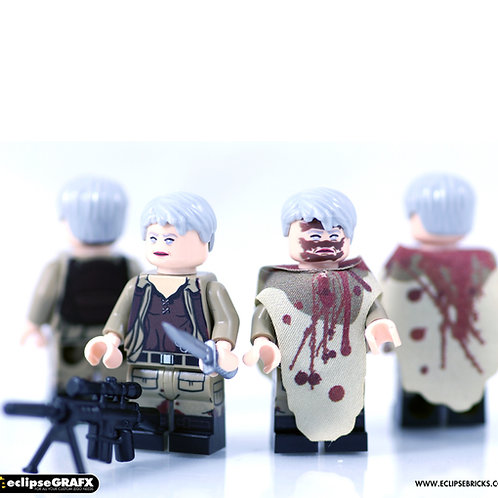 Eclipsegrafx USA walking dead minifigure x 1
