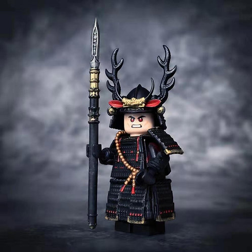 Black Samurai parts set ( No mini figure )  by Cosmos