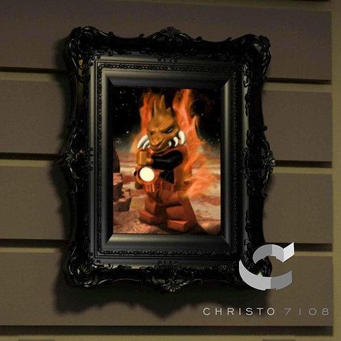 Christo7108 Larfleeze Brickart