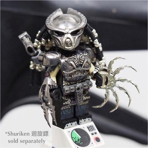 Predator 2018 minifigure (Black-steel color edition)