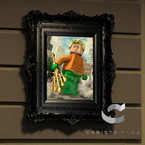 Christo7108 Aquaman Brickart
