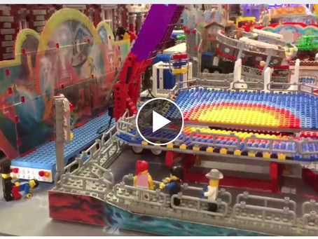 What a big MOC! A Lego Amusement Park