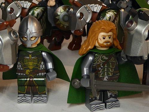 Rohan Riders x 7 minifigures including Éowyn LOTR002