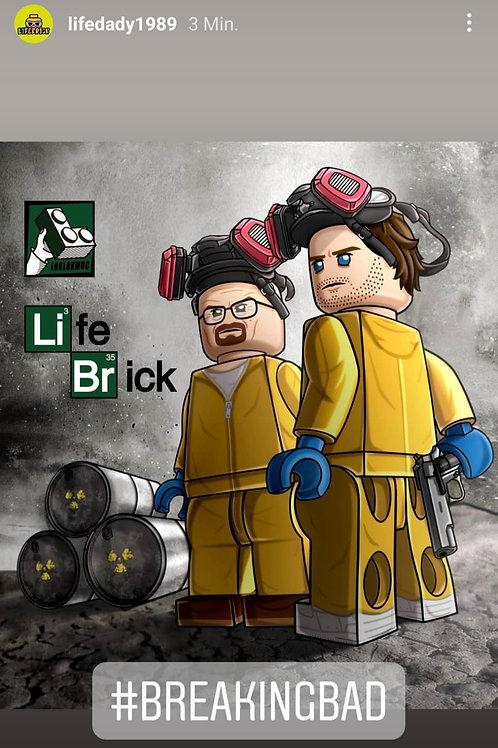 Lifebrick Breaking Bad Walt & Jesse
