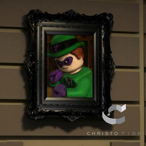 Christo7108 The Riddler Brickart