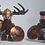 Thumbnail: Mines of Moria Dwarves General ( golden red ) x 4 minifigures  HOB005