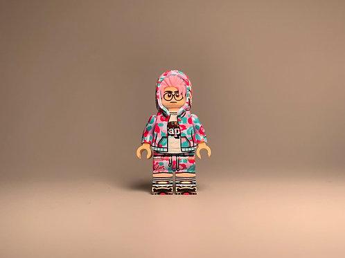 Sakura Brick Fashion Bape Miami minifigure