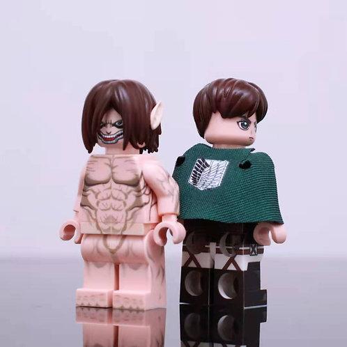 Hobby Brick Attack Titan Set A