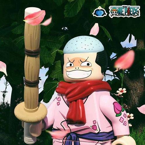 Fl one piece Momosuke ,  custom hair, scarf , sword