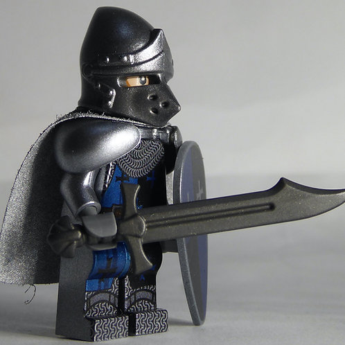 Templar (Blue)  x 10 minifigures with weapons TEMP001