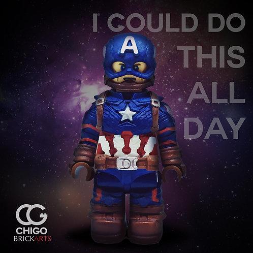 CHIGO Brickarts Kai Cap America (Ver.Endg)