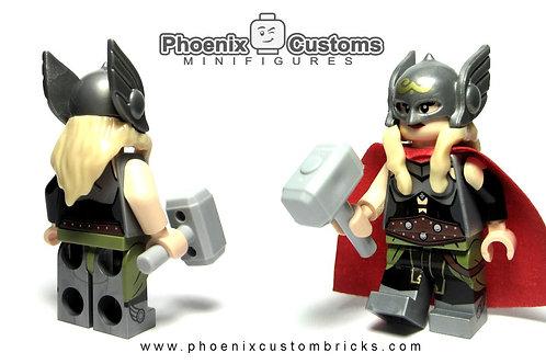 Phoenix Custom Brick Lady Hammer Wielder