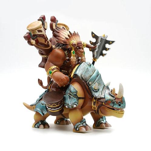 MF WOW big figure Baine Bloodhoof with Kodo Beast