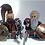 Thumbnail: Mines of Moria Dwarves x 8 minifigures  HOB002