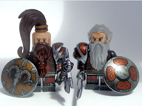 Mines of Moria Dwarves x 8 minifigures  HOB002