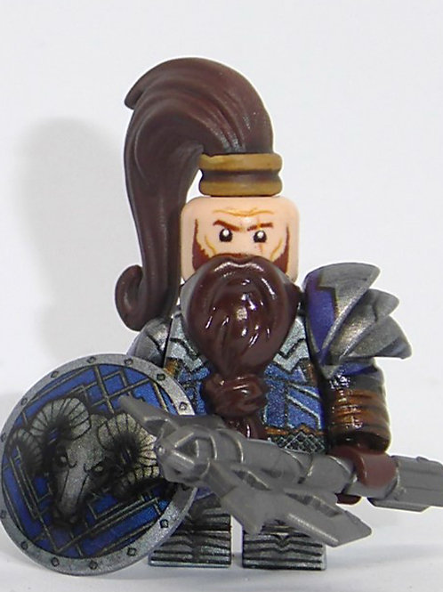 Blue Mountain Dwarves x 8 minifigures  HOB003