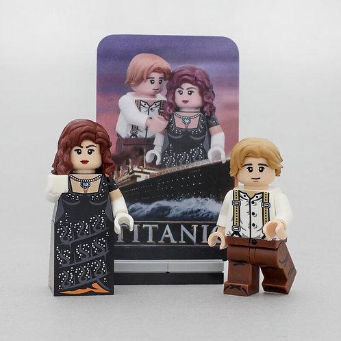 Outside Brick Titanic set