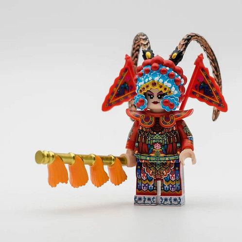 MF Mu Guiying (穆桂英掛師) Chinese Opera minifigure