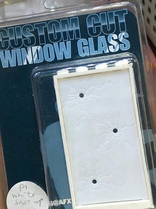 Eclipsegrafx Batgirl shot-up glass (White)